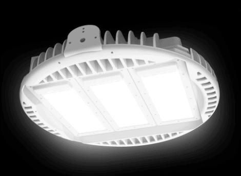 Luxon vezérelt ipari LED csarnokvilágítás / Delta