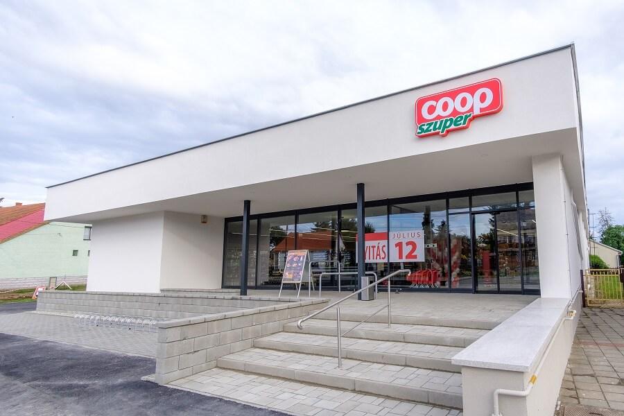 Coop élelmiszer bolt világítás (2)