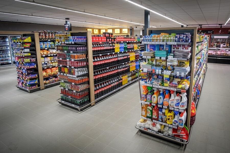 Coop élelmiszer bolt világítás (3)