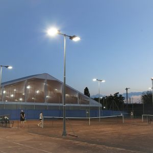 Teniszpálya LED világítás